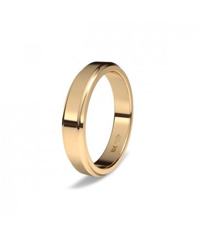 Alianza de boda oro rojo Elena