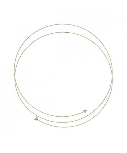 Collar Oro Magic Wire cupido 119-C-GTI-01