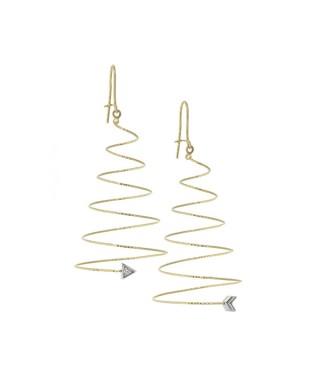 Pendientes Oro Magic Wire cupido 123-OS-GTI-01