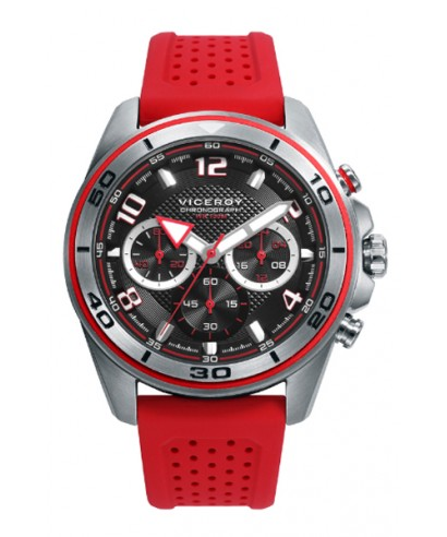 Reloj cronógrafo Viceroy Heat rojo 46807-55