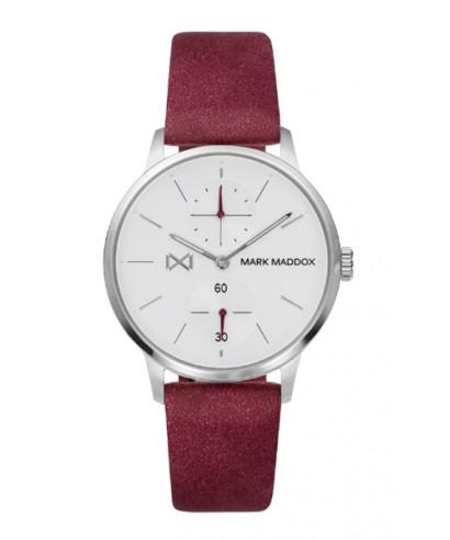 Reloj Mark Maddox rojo mujer MC2003-07