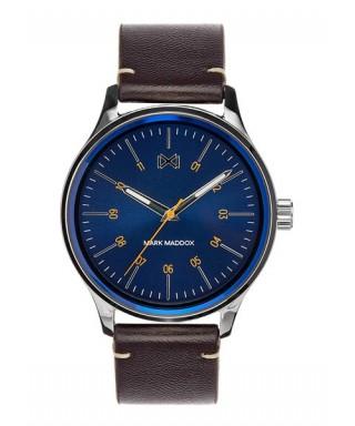 Reloj Mark Maddox azul hombre HC7101-37