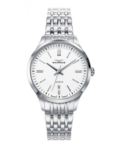 Reloj Sandoz acero señora 81352-07