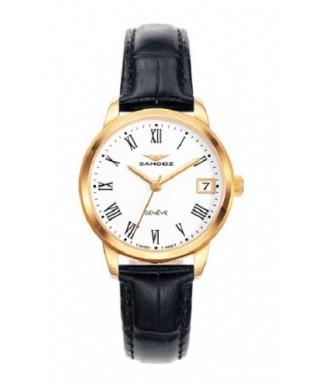 Reloj Sandoz negro dorado mujer 81340-93