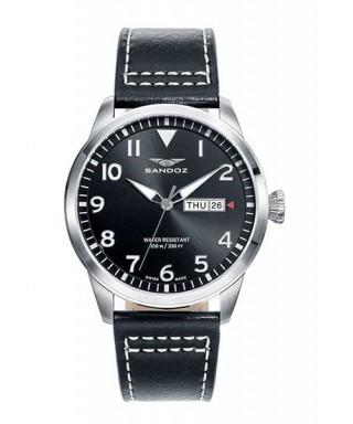 Reloj Sandoz negro para hombre