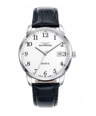Reloj Sandoz piel hombre 81437-05