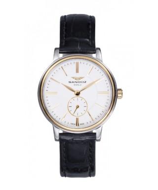 Reloj Sandoz acero y oro mujer