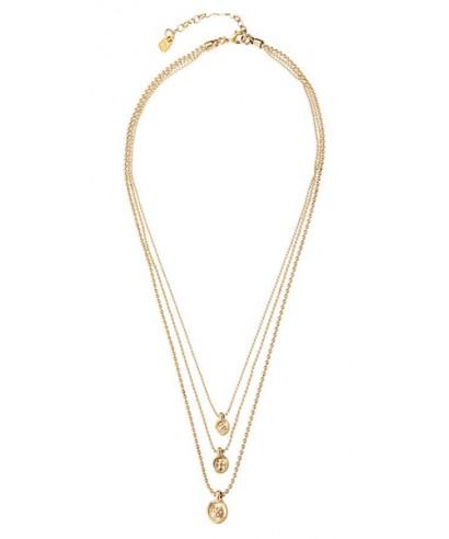 Collar 'Red Two' Uno de 50 dorado COL1569ORO
