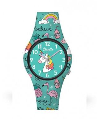 Reloj Doodle 'Unicornio' DO32005