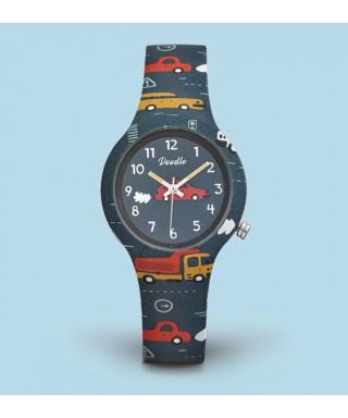 Reloj Doodle infantil coches DO32001