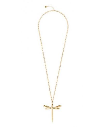 Collar Libélula dorada Uno de 50 'TAKE-ME' COL1582ORO