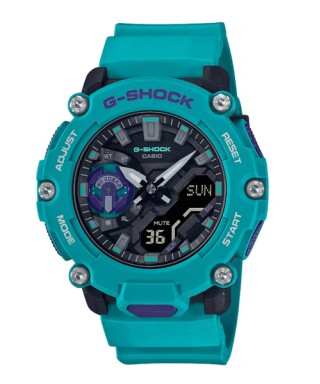 Reloj Casio G-SHOCK azul negro GA-2200-2AER