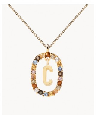 Collar PDPAOLA letra C CO01-262-U