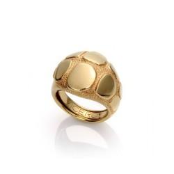 Anillo viceroy bijoux chapado en oro