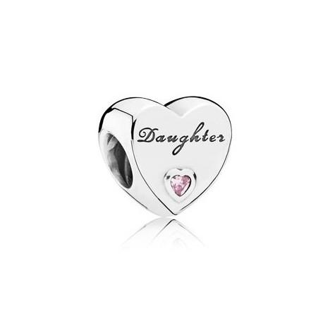 Abalorio Pandora corazón hija